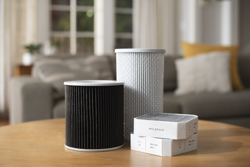 Molekule PECO filters and pre-filters